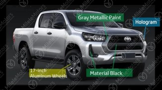 2021 Toyota Hilux facelift leak 6