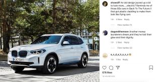 BMW iX3 Leaked IG 2
