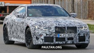 G82 BMW M4 spyshot 3