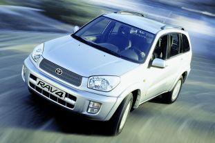 Toyota RAV4 through the years 4