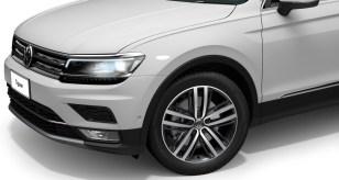 """2020 Volkswagen Tiguan with 19"""" Auckland Wheels"""