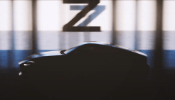 Nissan 400Z teaser 1