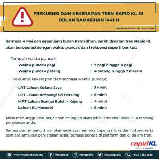 Rapid KL Trains May4 1