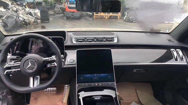 W223 Mercedes-Benz S-Class leak 4