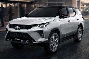 2020 Toyota Fortuner Legender facelift Thailand 9
