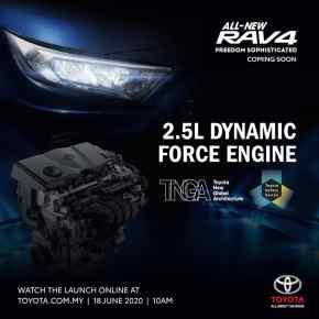 2020 Toyota RAV4 Malaysia teaser 11