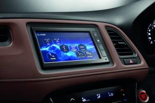 Honda HR-V RS dark brown leather interior-3