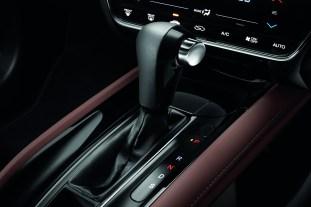 Honda HR-V RS dark brown leather interior-4