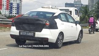Nissan Almera spyshots June 4