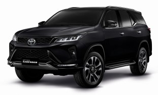 Toyota Fortuner Legender Attitude Black