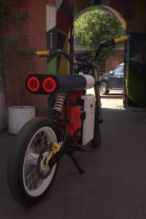 2020 Punch Moto electric motorcycle - 13