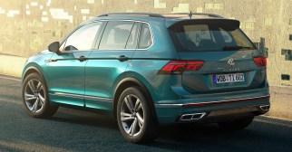 2020 Volkswagen Tiguan facelift-Europe-2