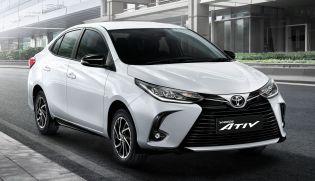 2020 Toyota Yaris Ativ facelift Thailand 1
