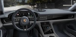 2021 Porsche Taycan textile interior, Graphite Blue Slate Grey-1