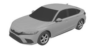 Honda Civic Hatchback 11th gen patent images-1
