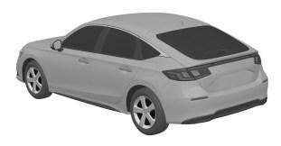Honda Civic Hatchback 11th gen patent images-2