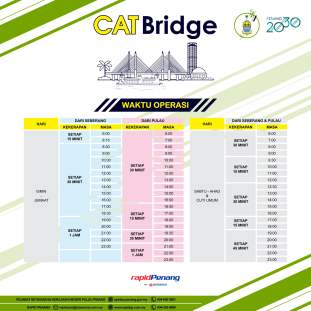 Penang CAT Bridge Bus 3