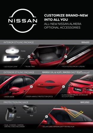 2020 Nissan Almera accessories Malaysia-1