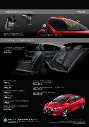 2020 Nissan Almera accessories Malaysia-2