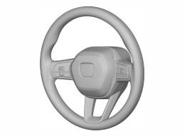 Honda Civic 11th-generation interior patents-10