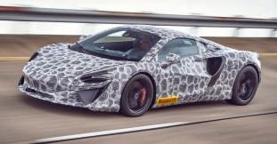 McLaren new hybrid V6 supercar teaser-1