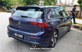 Volkswagen Golf GTI Mk8 Malaysia spotted CKD-3