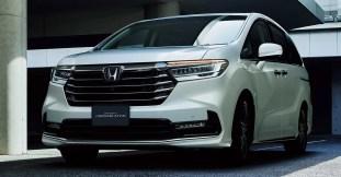 2020 Honda Odyssey facelift Japan-1