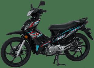 2021 Modenas Kriss 110 Disc Brake Black - 10