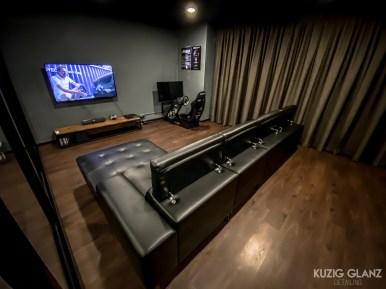 (KUZIG) Smart TV & Racing Simulator