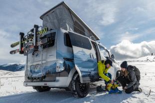 Nissan e-NV200 Winter Camper concept 2