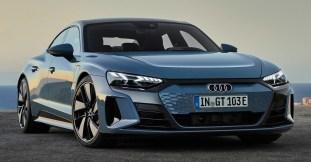 2021 Audi e-tron GT in Kemora Grey Metallic