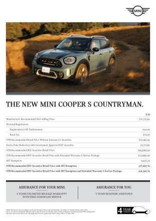 THE NEW MINI COOPER S COUNTRYMAN_PM