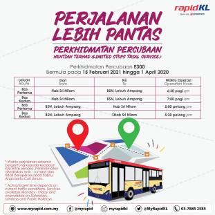 Rapid KL E300 bus 1