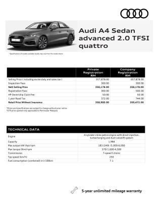 2021 Audi A4_Sedan_advanced_2-0_TFSI_quattro_Malaysia-spec sheet (1)