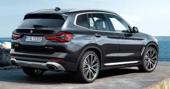 G01 BMW X3 LCI facelift debut-31