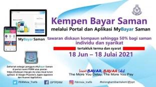 PDRM June Saman Discount