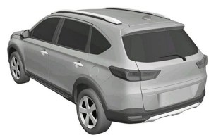 2022 Production Honda N7X SUV patent images-rumoured new BR-V (2)