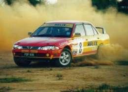 Proton Wira C99 Limited Edition Suriya rally-2