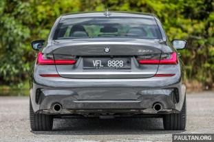 2021 G20 BMW 330e M Sport plug-in hybrid Malaysia_Ext-14