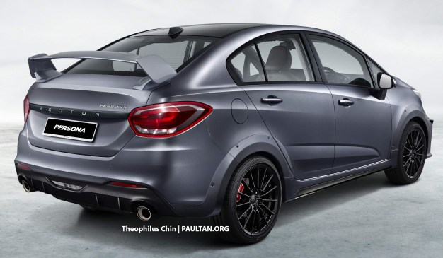 2022 Proton Persona sporty render Theophilus-2