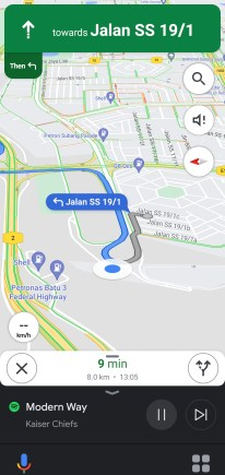 Google Assistant Driving Mode-2