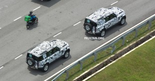 L663 Land Rover Defender in Malaysia camouflaged (5)