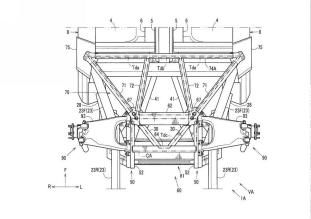 Mazda sports car rear body structure patent filing-12