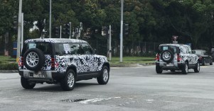 New Land Rover Defender official teasers on-road (4)