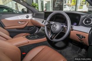 2021 W213 Mercedes-Benz E 200 Avantgarde Malaysia_Int-2