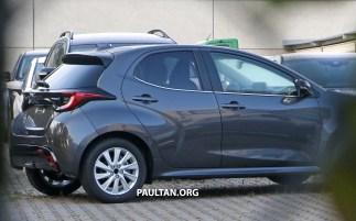 2023 Mazda 2 Europe spyshots (3)