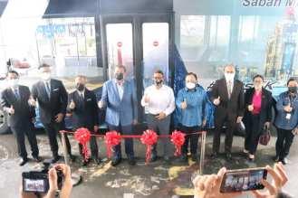 Sabah electric bus pilot announcement (3)