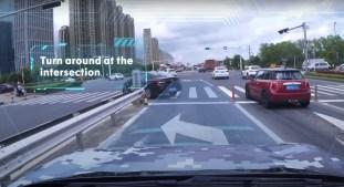 Zeekr autonomous driving_intersection-U-turn-2