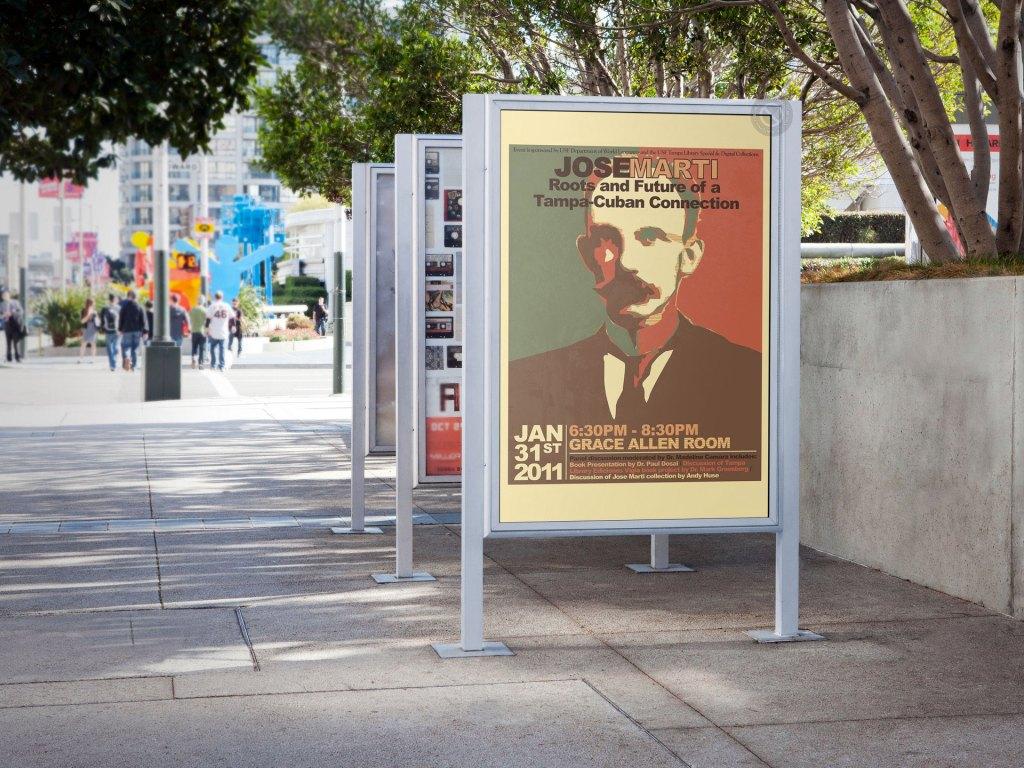 Jose Marti Event Poster
