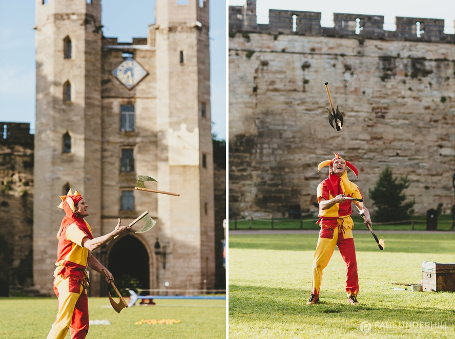 Corporate event photography at Warwick Castle  Paul
